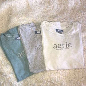 Aerie *set of 3* Sleep Shirts sz L